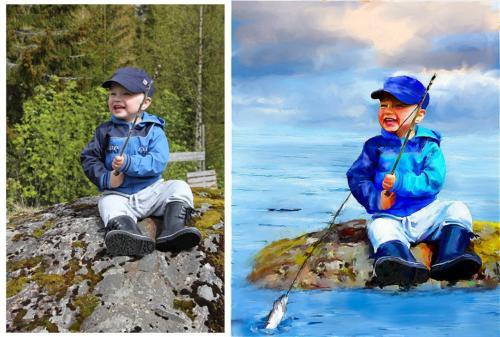 Den lille fiskeren